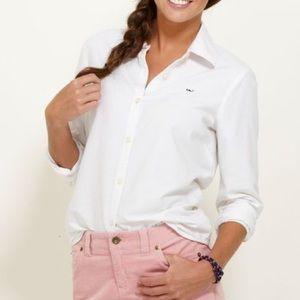 Vineyard Vines | White Button Down Shirt